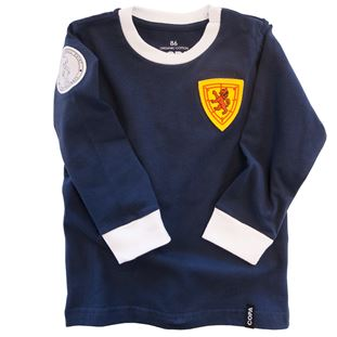 6811 | Scotland 'My First Football Shirt' Long Sleeve | 1 | COPA