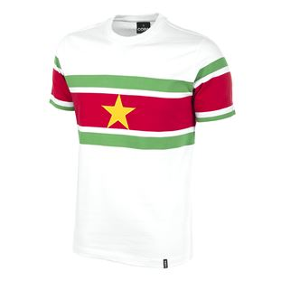 522 | Suriname 1980's Short Sleeve Retro Football Shirt | 1 | COPA