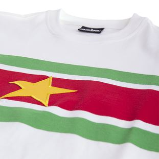 Suriname 1980's Retro Football Shirt | 5 | COPA