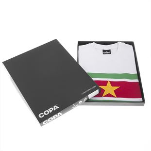 Suriname 1980's Retro Football Shirt | 6 | COPA