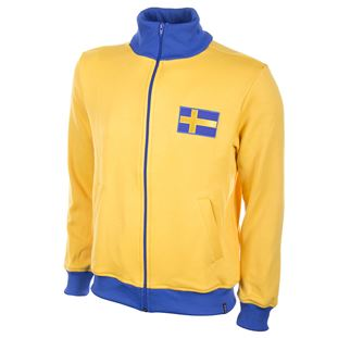 Sweden 1970's Retro Football Jacket | 1 | COPA