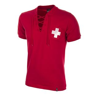 664 | Switzerland World Cup 1954 Short Sleeve Retro Football Shirt | 1 | COPA
