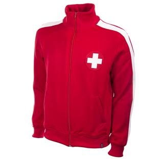 Switzerland 1960's Retro Football Jacket | 1 | COPA
