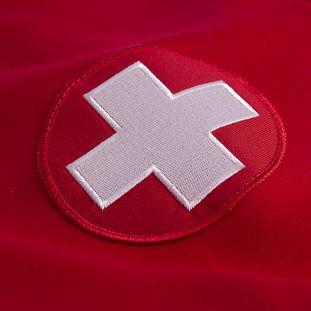 Switzerland 1960's Retro Football Jacket | 3 | COPA