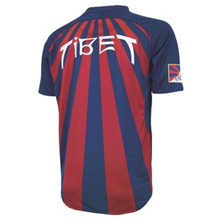 9100 | Tibet Home Short Sleeve Football Shirt | 2 | COPA