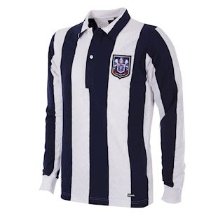 140 | West Bromwich Albion 1953 - 54 Long Sleeve Retro Football Shirt | 1 | COPA