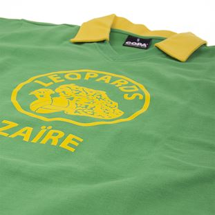 Zaire World Cup 1974 Retro Football Shirt | 5 | COPA