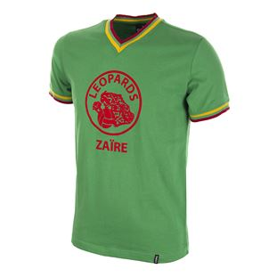 694 | Zaire World Cup 1974 Qualification Short Sleeve Retro Football Shirt | 1 | COPA