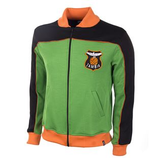 839 | Zambia 1980's Retro Football Jacket | 1 | COPA