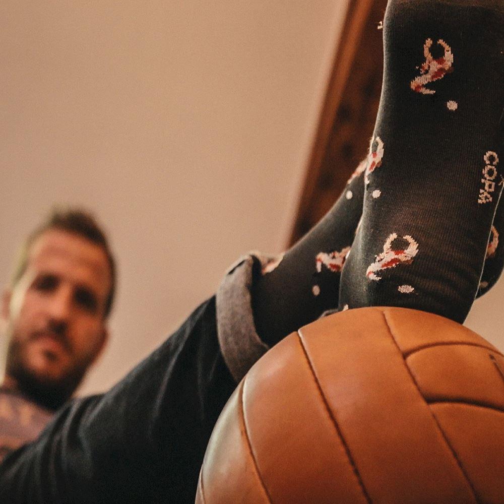 Rafael van der Vaart x COPA socks