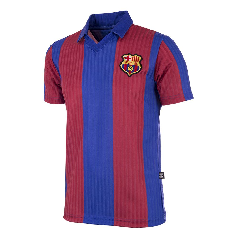 Two New FC Barcelona Retro Shirts
