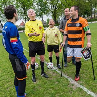 Amputee Football Netherlands by COPA
