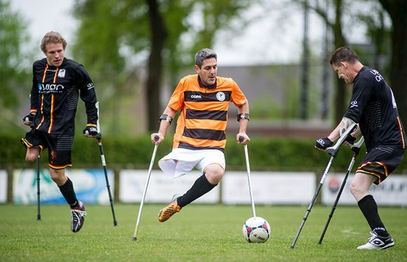 Amputee Football the Netherlands by COPA
